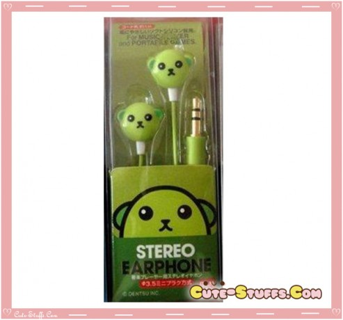 Rare Kawaii Mameshiba Bean In-Ear Headphones