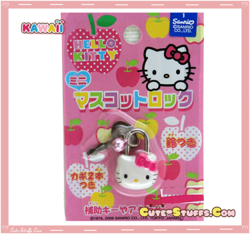 Hello Kitty Novelty Diary lock
