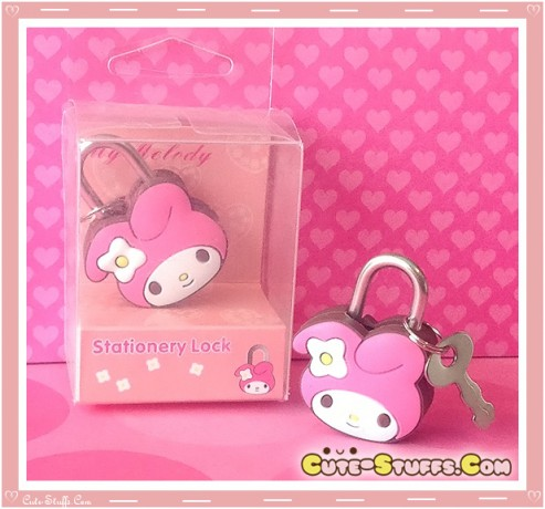 My Melody Kawaii Diary Lock & Keys!