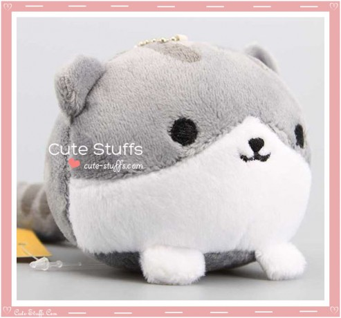 "Neko Atsume Kawaii Plush - ""Pickles"" (Shirosaba-san)"