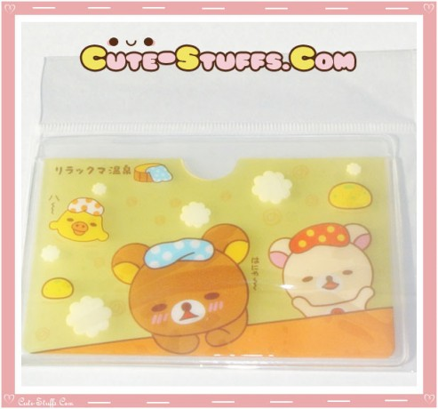 Kawaii San-X ID Card Holder - Rilakkuma Heating Pad