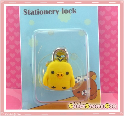 Kiiroitori Kawaii Diary Lock & Keys!