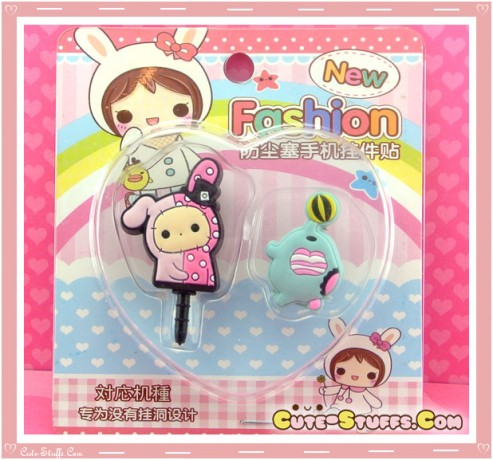 Kawaii Ipod Iphone Ipad Dust Plug Set Sentimental Circus Shappo Mouton