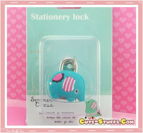 Sentimental Circus Mouton Kawaii Diary Lock & Keys!