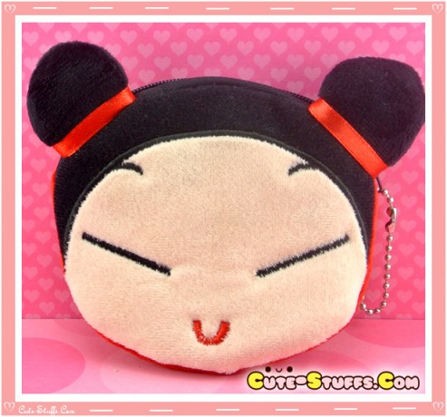 Kawaii Plush Pucca Coin Purse! Large