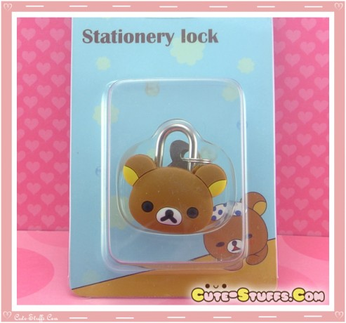 Rilakkuma Kawaii Diary Lock & Keys!