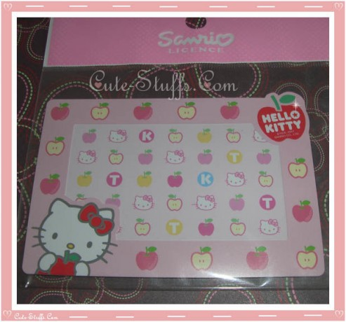 Hello Kitty Magnet Photo Frame - Apples
