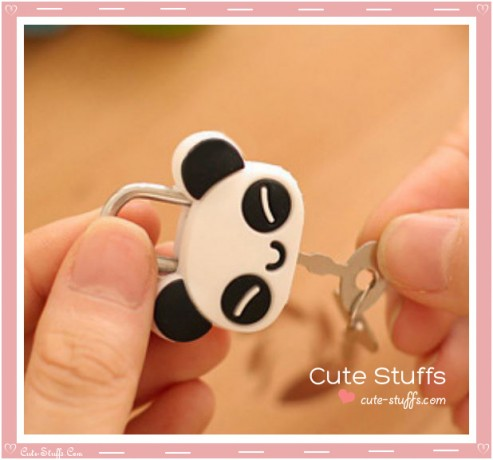 Panda Kawaii Diary Lock & Keys!