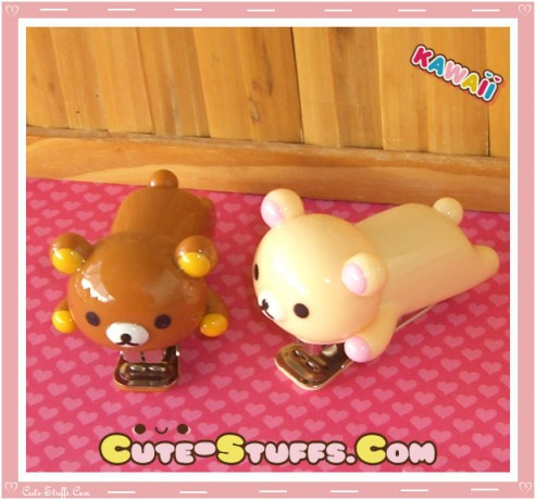 Kawaii Rilakkuma or Korilakkuma Medium Stapler
