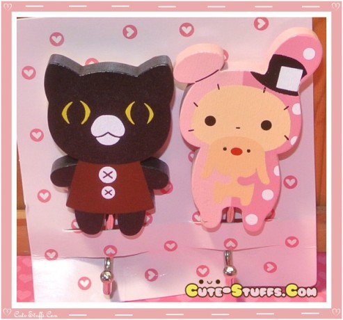 Kawaii Large Sentimental Circus Shappo w/ Curo Wood Hook Set