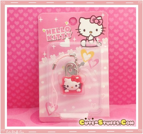Kawaii Rare Mini Character Lock & Keys - Hello Kitty!