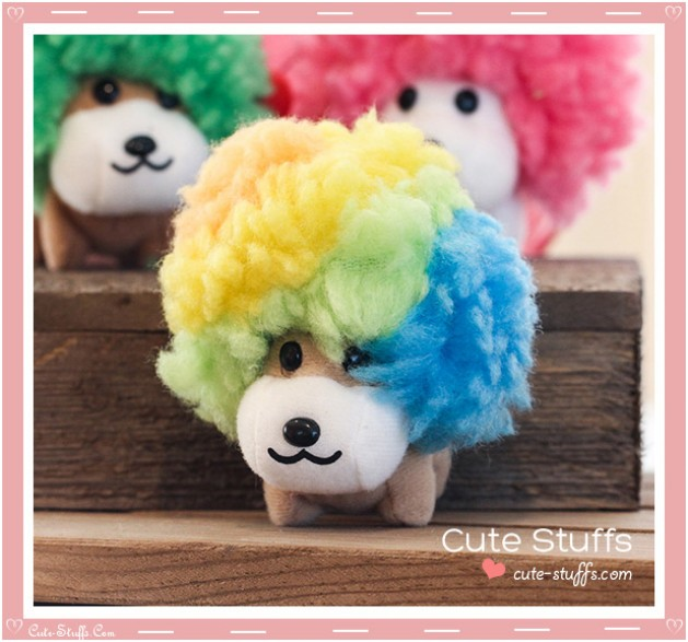 Kawaii Afro Ken Plush - Choose Hair Color!