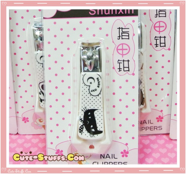 Kawaii Black Cat Nail Clippers