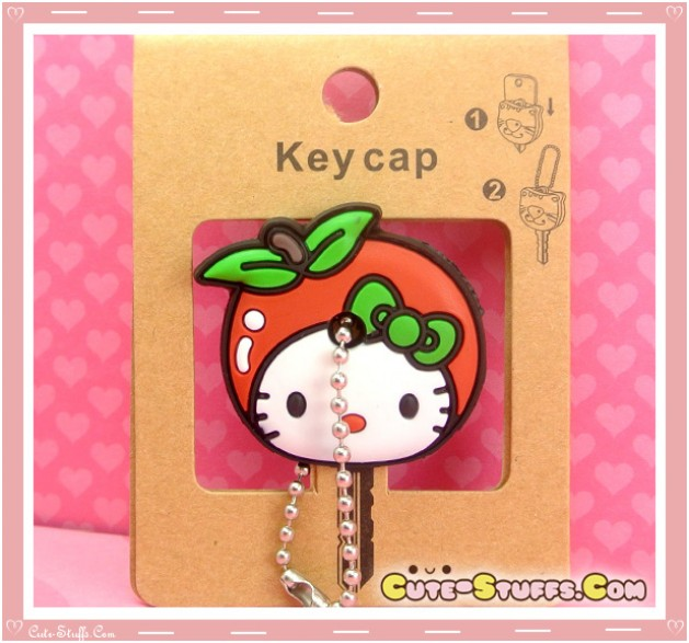 Kawaii Hello Kitty Apple Key Cover