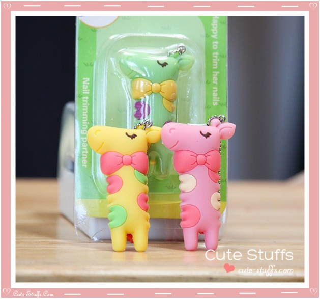 Cute Nanaco Giraffe Nail Clippers - 3 Colors!