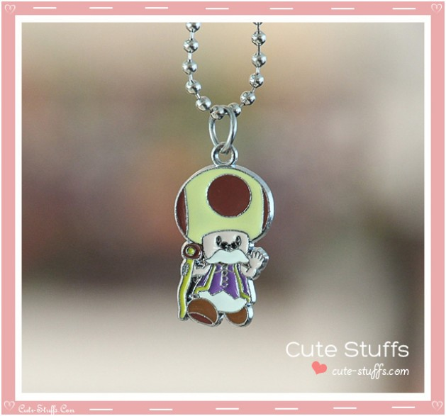 Super Mario Bros Necklace featuring Toadsworth!