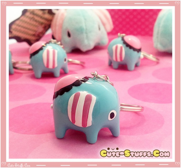 Kawaii RARE Sentimental Circus Mouton Jumbo Resin Keychain!