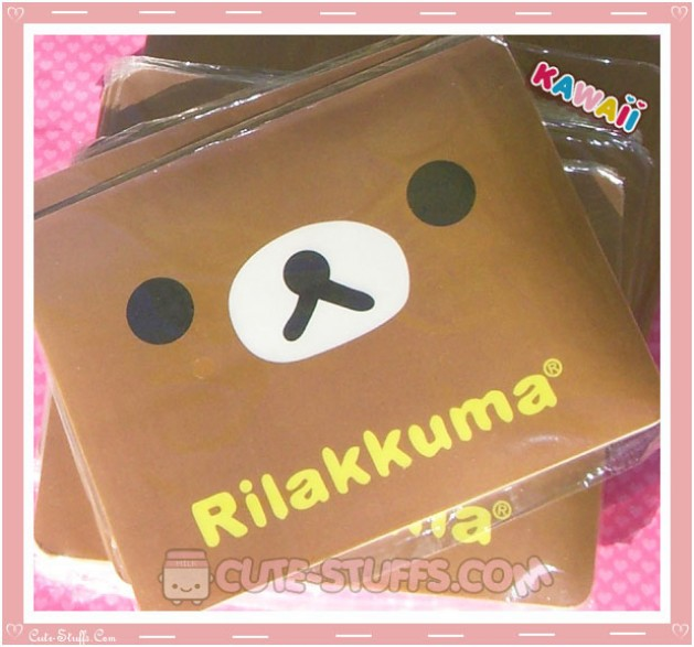 Kawaii Rilakkuma Square Mousepad