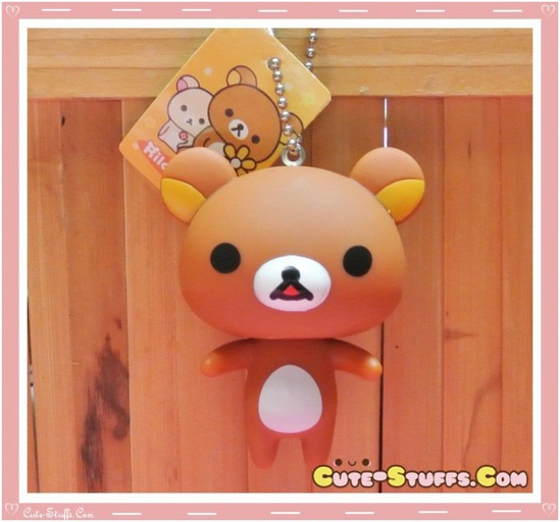 Kawaii Large Rilakkuma Keychain or Backpack & Purse Charm