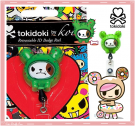 Kawaii Rare Koi Tokidoki Retractable ID Badge Reel! Bastardino Cactus!