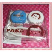 Kawaii Mini Travel Lens Case or Trinket Box! - Paka Monkey