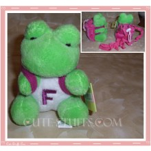 Kawaii Plush Phone Holder Frog Letter F