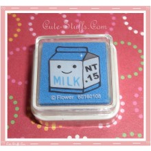 Kawaii Mini Blue Milk Ink Pad