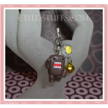 Kawaii Rare Flashing Domo Kun Phone Charm! Small