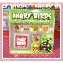 Angry Birds Stamp Set 6pc - Green