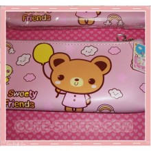Kawaii Rare Large Pink Bear Case