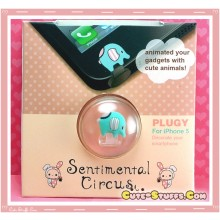Kawaii Sentimental Circus Mouton iPhone 5 Dust Plug! Very Rare!
