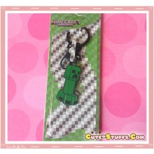 Kawaii Unique Large Minecraft Creeper Keychain  - Classic Style