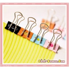 Kawaii Rare Animal Series Metal File Clips! 8 pcs per set!