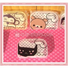 Kawaii Translucent Travel Lens Case or Trinket Box! - Black Cat