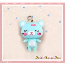 Kawaii Large Good Friends Keychain or Backpack & Purse Charm! Blue