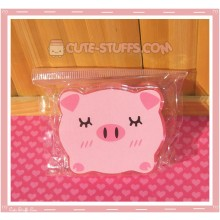 Kawaii Bear Shaped Travel Lens Case or Trinket Box! - Pig