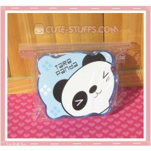 Kawaii Bear Shaped Travel Lens Case or Trinket Box! - Blue Panda