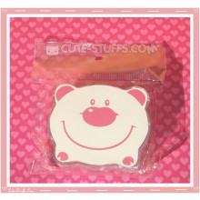 Kawaii Bear Shaped Travel Lens Case or Trinket Box! - White Bear