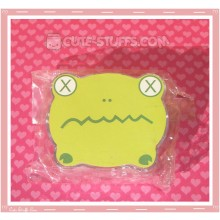 Kawaii Bear Shaped Travel Lens Case or Trinket Box! - Frog