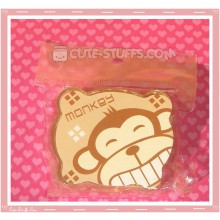 Kawaii Bear Shaped Travel Lens Case or Trinket Box! - Monkey