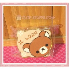 Kawaii Bear Shaped Travel Lens Case or Trinket Box! - Rilakkuma