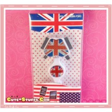Kawaii 4 in 1 Universal Mobile Phone USB Flashing Data Cable! UK Flag