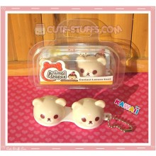 Kawaii Animal Series 2 Capsule Contact Lense Case! - Light Brown Bear