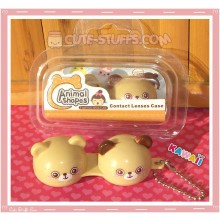 Kawaii Animal Series 2 Capsule Contact Lense Case! - Brown Bear