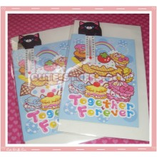 Kawaii Hapy Day Folding Card w/ Cat Thermometer