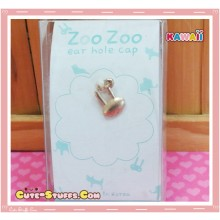 Kawaii Gold Dangle Dust Plug Charm! Rabbit