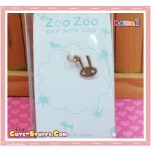 Kawaii Gold Dangle Dust Plug Charm! Bunny