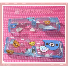 Kawaii Eyeglasses Case - Colorful Bears
