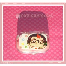 Kawaii Sparkle Travel Lens Case or Trinket Box! - Caicai Hearts