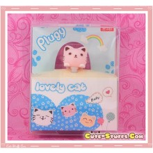 Kawaii Rare Cat Hanging Series Dust Plug Pink
